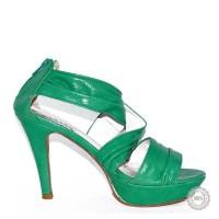 Žalios aukštakulnės basutės Andrea Conti