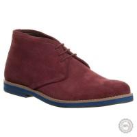 Raudoni odiniai klasikiniai batai Zign