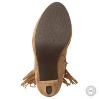 Smėlio spalvos odiniai aulinukai Taupage #3