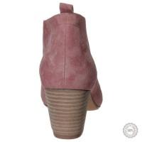 Rožiniai odiniai aulinukai Pier One #2