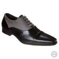 Juodi odiniai klasikiniai batai Pier One