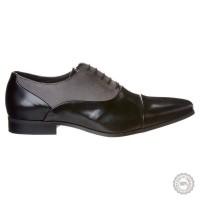Juodi odiniai klasikiniai batai Pier One #5