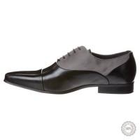 Juodi odiniai klasikiniai batai Pier One #6