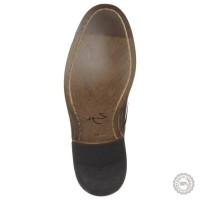 Mėlyni odiniai klasikiniai batai Zign #3