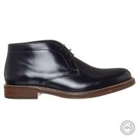 Mėlyni odiniai klasikiniai batai Zign #5