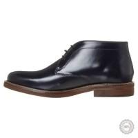 Mėlyni odiniai klasikiniai batai Zign #6