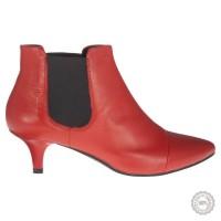 Raudoni odiniai aulinukai Vagabond #5