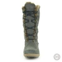 Pilki odiniai ilgaauliai batai su kailiu Tommy Hilfiger #2