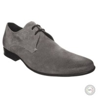 Pilki odiniai klasikiniai batai Pier One