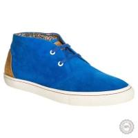 Mėlyni odiniai laisvalaikio batai Nobrand