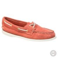 Rožiniai odiniai mokasinai Sperry Top-Sider