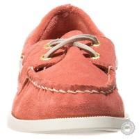 Rožiniai odiniai mokasinai Sperry Top-Sider #4