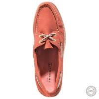 Rožiniai odiniai mokasinai Sperry Top-Sider #7
