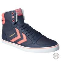 Mėlyni odiniai laisvalaikio batai Hummel