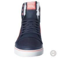 Mėlyni odiniai laisvalaikio batai Hummel #4