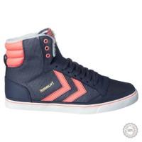 Mėlyni odiniai laisvalaikio batai Hummel #5