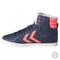 Mėlyni odiniai laisvalaikio batai Hummel #6