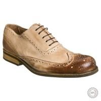 Smėlio spalvos odiniai klasikiniai batai Playboy