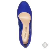 Mėlyni odiniai aukštakulniai bateliai Buffalo #7