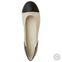 Smėlio spalvos balerinos Ballerina Closet #7