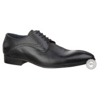 Juodi odiniai business shoes Pier One