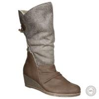 Smėlio spalvos ilgaauliai batai su pašiltinimu Anna Field