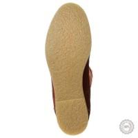Oranžiniai odiniai ilgaauliai batai Tamaris #3
