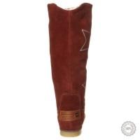 Rudi odiniai ilgaauliai batai Tamaris #4