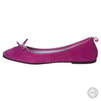 Rožinės odinės balerinos Gant #6
