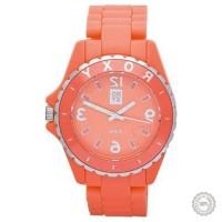 Oranžinis moteriškas laikrodis Roxy