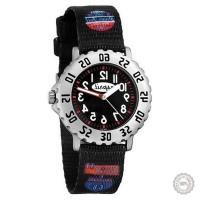 Juodas vaikiškas laikrodis Esprit