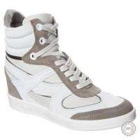Pilki odiniai batai Bronx