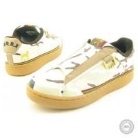 Smėlio spalvos odiniai laisvalaikio batai Royal Elastics